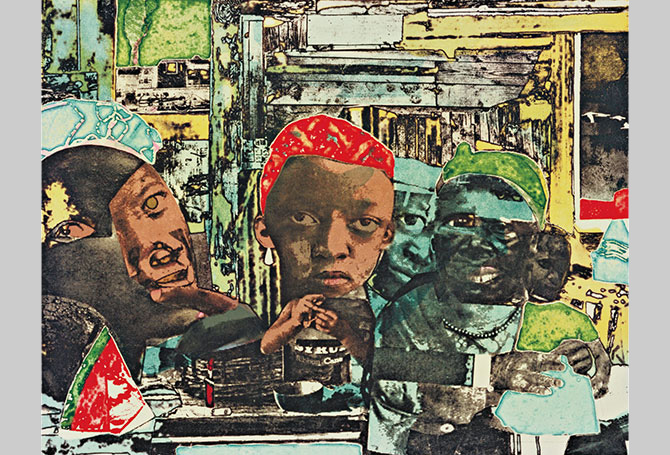 Romare Bearden Layers Of History - Romare-bearden-coloring-pages