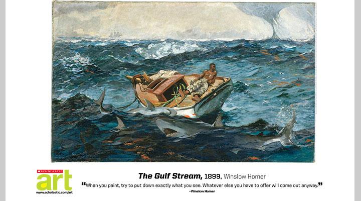 The Gulf Stream, Winslow Homer (1899)